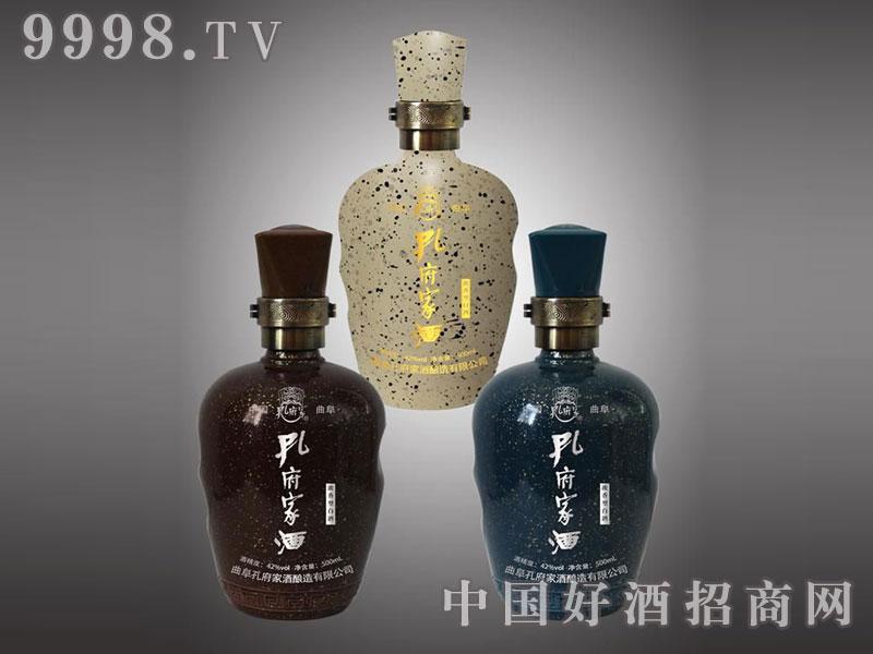 儒诚点金工艺酒瓶・孔府家酒