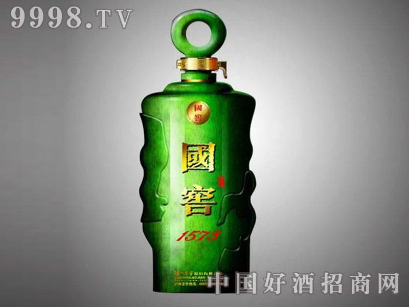 儒诚金属釉工艺酒瓶・国窖1573(绿)