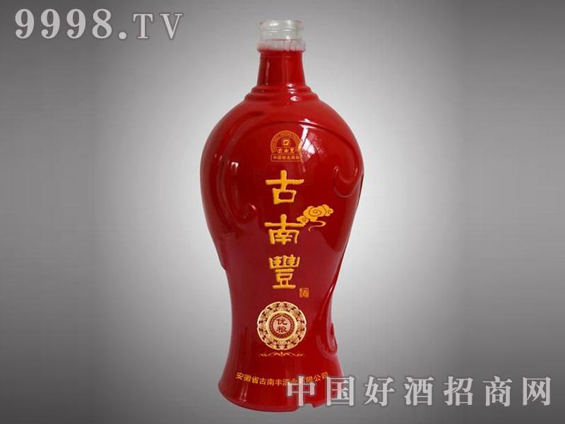 儒诚金属釉工艺酒瓶・古南丰