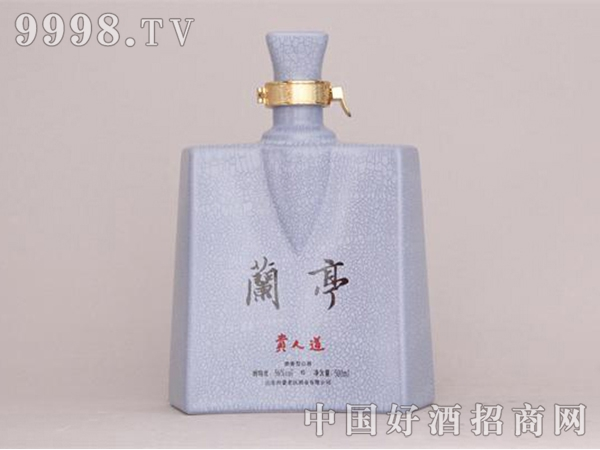 兰亭贵人道瓶
