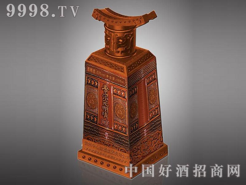 儒诚手工古铜工艺酒瓶・唐宋元明清