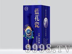 牟份原浆酒蓝花瓷10