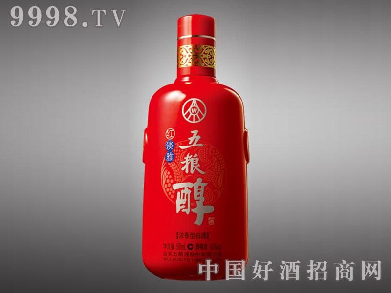 儒诚亮光釉工艺酒瓶・淡雅五粮醇