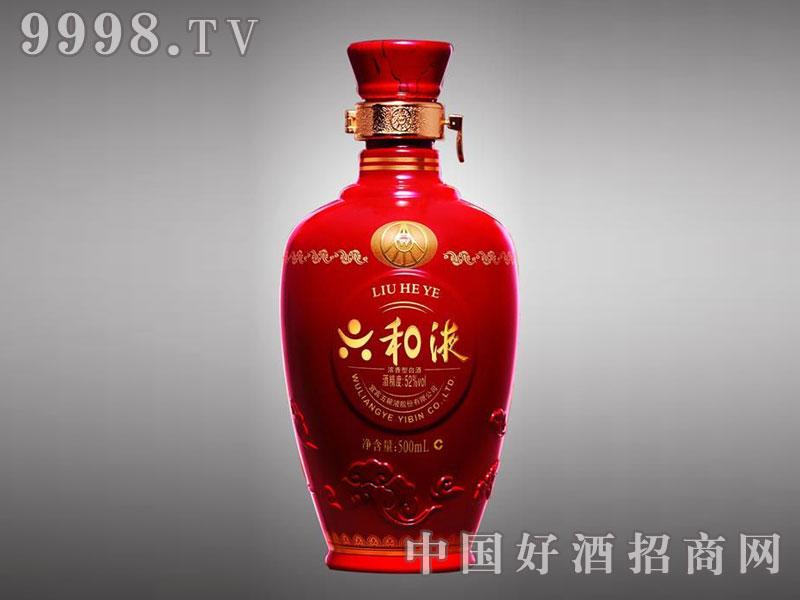 儒诚亮光釉工艺酒瓶・六和液500ml