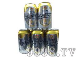 子弹头啤酒320ml罐装