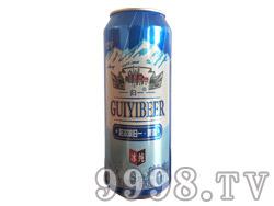 哈尔滨归一冰纯啤酒500ml罐