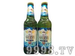哈尔滨归一冰纯啤酒330ml绿瓶