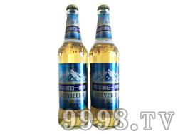 哈尔滨归一冰纯啤酒10°500ml白瓶