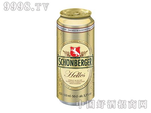 盛堡黄啤酒(罐装)
