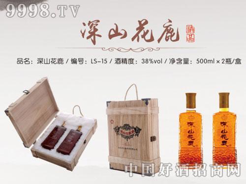 龙盛参茸-深山花鹿酒(木盒)