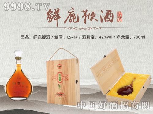 龙盛参茸-鲜鹿鞭酒(白盒)