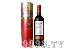 卡斯特黛乐骑士干红葡萄酒