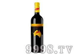 沃富金袋鼠S198干红葡萄酒