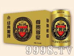 欧娜斯经典黑啤酒320ml×24罐