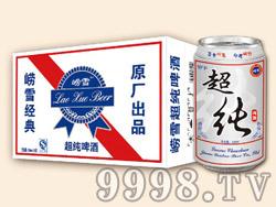 崂雪原厂超纯啤酒320ml×24罐