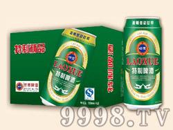 崂雪特制啤酒500ml×24罐