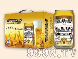 崂雪小麦王啤酒320ml×12罐