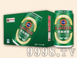 崂雪特制啤酒320ml×24罐