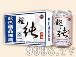 崂雪蓝色精品超纯啤酒320ml×24罐