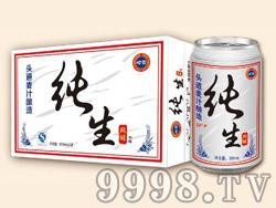 崂雪纯生啤酒320ml×24罐