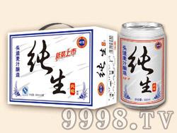 崂雪纯生啤酒320ml×12罐