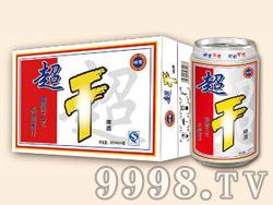 崂雪超干啤酒320ml×24罐