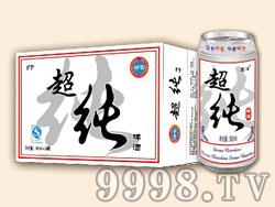 崂雪超纯啤酒500ml×24罐