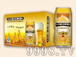 蓝浒小麦王啤酒500ml×24罐