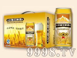 蓝浒小麦王啤酒500ml×12罐