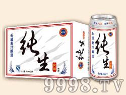 蓝浒纯生啤酒500ml×24罐