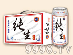 蓝浒纯生啤酒500ml×12罐