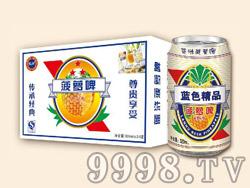 蓝浒白菠萝啤320ml×24罐