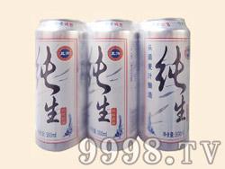 蓝浒纯生啤酒塑包