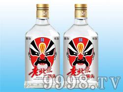 五星京军老北京二锅头酒-脸谱(银标)