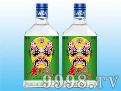 五星京军老北京二锅头酒-脸谱(绿标)