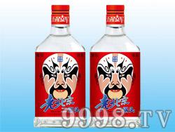 五星京军老北京二锅头酒-脸谱(红标)