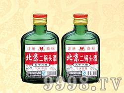 京池北京二锅头酒50°56°100ml×40(绿瓶)