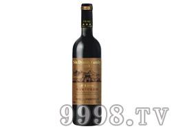 六朝世家金装橡木桶干红葡萄酒1996