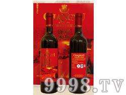 百年张裕干红葡萄酒(橡木桶礼盒)