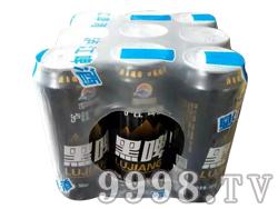 泸江啤酒黑啤(塑包)
