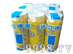 泸江啤酒500ml(塑包装)