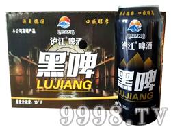 泸江啤酒黑啤500mlx12罐