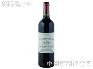 小白马干红葡萄酒(白马酒庄副牌)