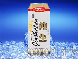 金沙滩纯生风味啤酒500ml