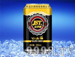 金沙滩黑啤酒330ml(罐)