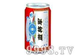 蓝将军啤酒325ml-8°