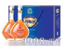 高端蓝色礼盒玛咖酒35度2斤装