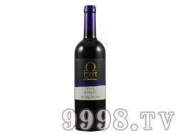 乐百纳系列之-2014年美乐干红葡萄酒