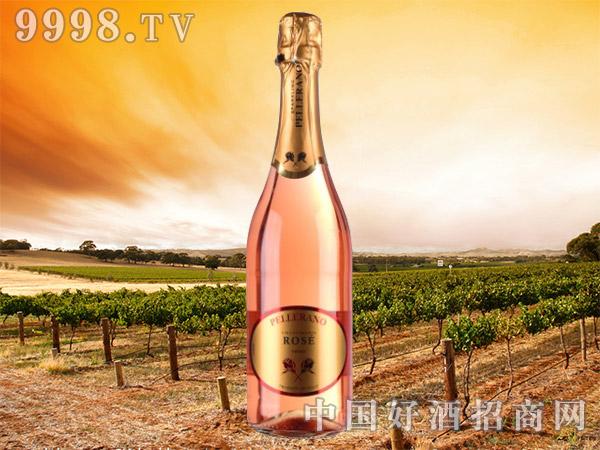 金玫瑰桃红起泡葡萄酒