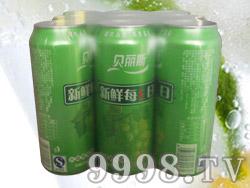 贝丽斯水晶葡萄9罐500毫升